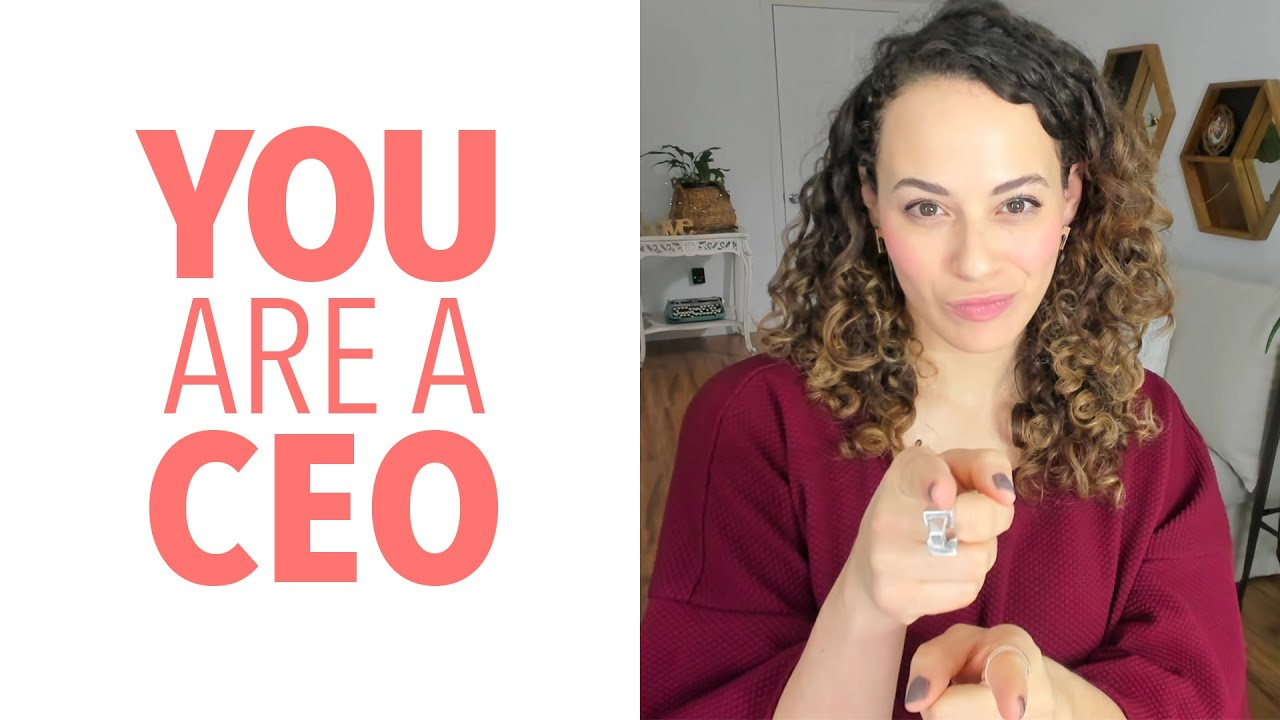 You are the CEO – Invest in Yourself!